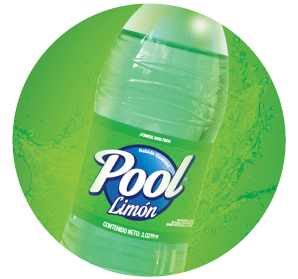 Gaseosa Pool Limon